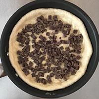 マシュマロとチョコのフライパンピザ ⑪